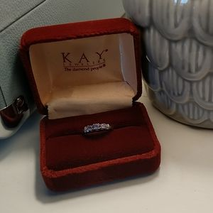 Kay Jewelers Tanzanite & Diamond Ring